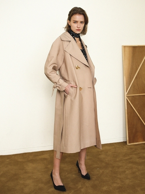 SANDY OVERSIZED TRENCH COAT