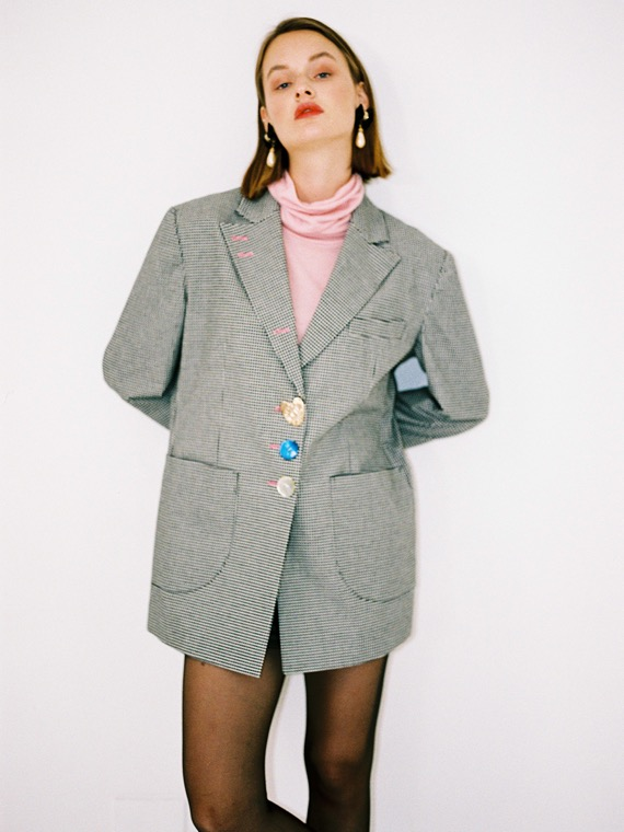 MANDY 2 CHECK JACKET